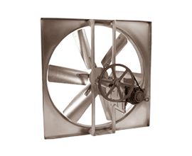 Axial Wall Mount Fans
