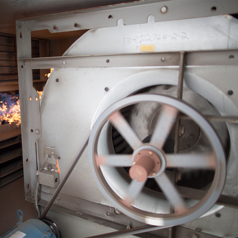 Horizontal Industrial Direct Fired Heater (RAM)