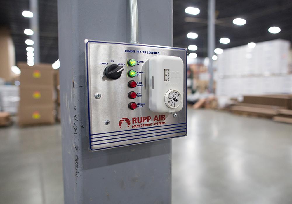 Horizontal Industrial Direct Fired Heater Ram