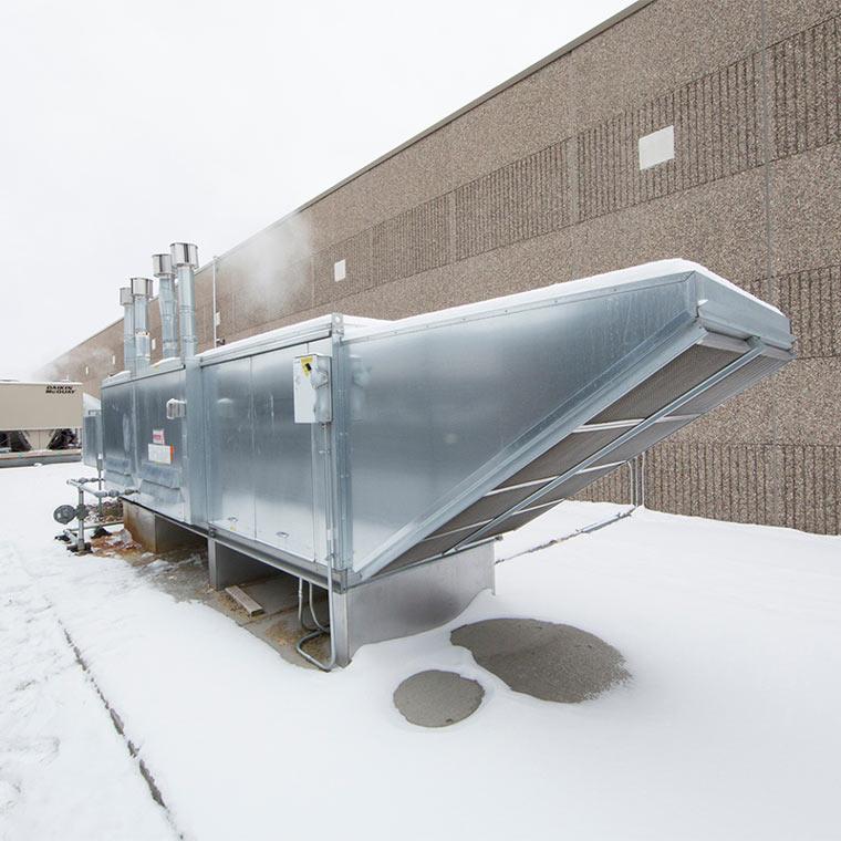 Modular Indirect Fired Bent Tube Heater R Ibt